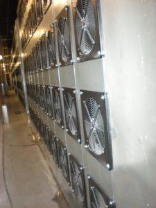 Fan Wall installation